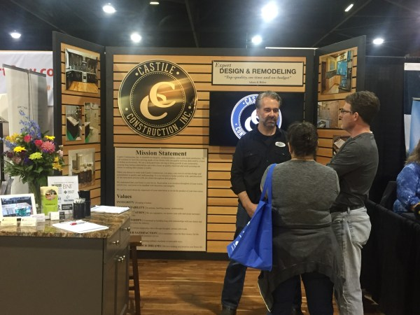 Castile Booth at Fall Home Show