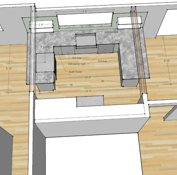 New Kitchen in 3D