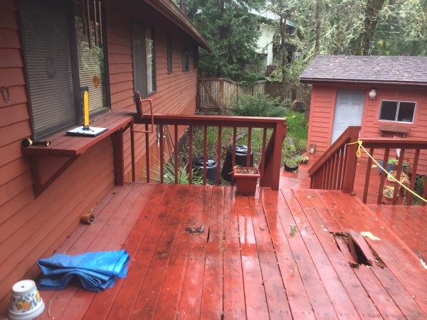 Before Deck Renovation
