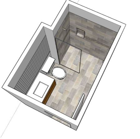 Bathroom Design Top View