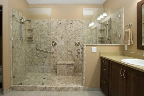 Veneta Bathroom Shower After Remodel