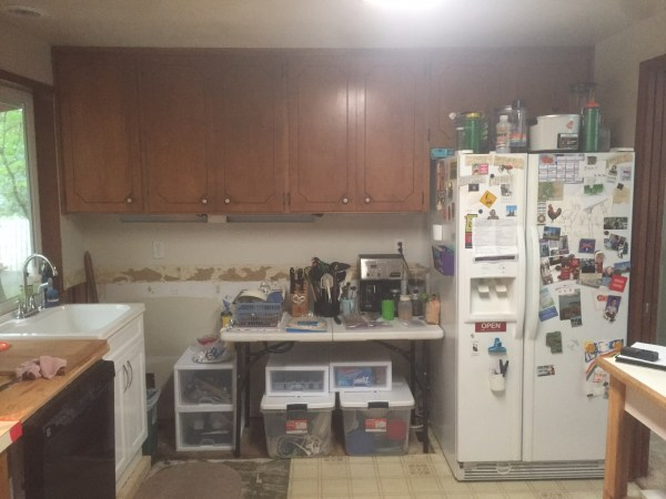 Before Kitchen Remodel 2018