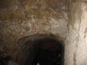Interior de la mina. Año 2005