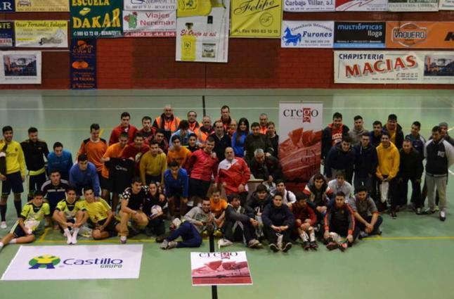 Campeonato de Fútbol Sala Solidario en Benavente