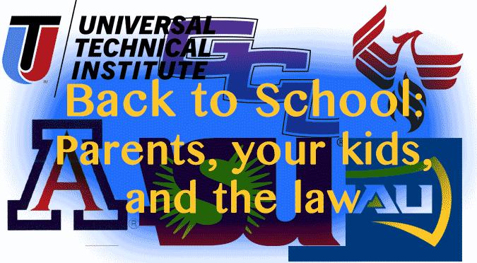 back to school parents kids law castillo