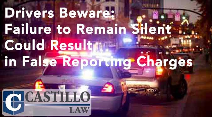 False Reporting Charge AZ Castillo Law