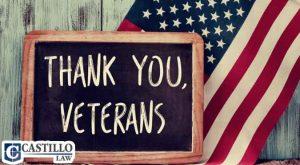 2017 Veterans Day Castillo Law Blog
