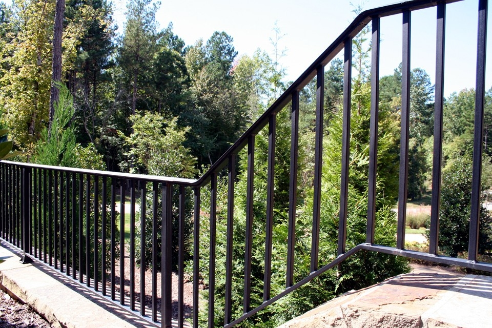 Replacing Wood Railing Raleigh Nc Cast Iron Elegance | Exterior Wrought Iron Railing Cost | Ironwork | Fence | Stainless Steel | Balcony Railing | Handrails
