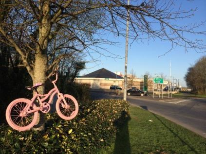 Castlebar Supporting Mayo Pink Ribbon Charity Cycle Event