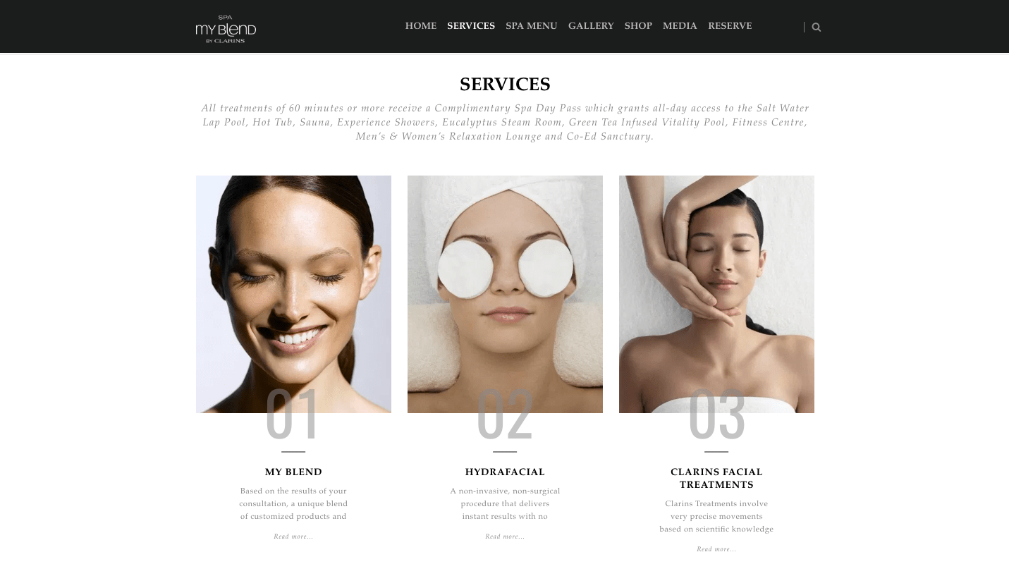 Spa-Website-Services