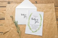 Olive_Leaf_Wreath_Calligraphy_Wedding_Suite_Invitation