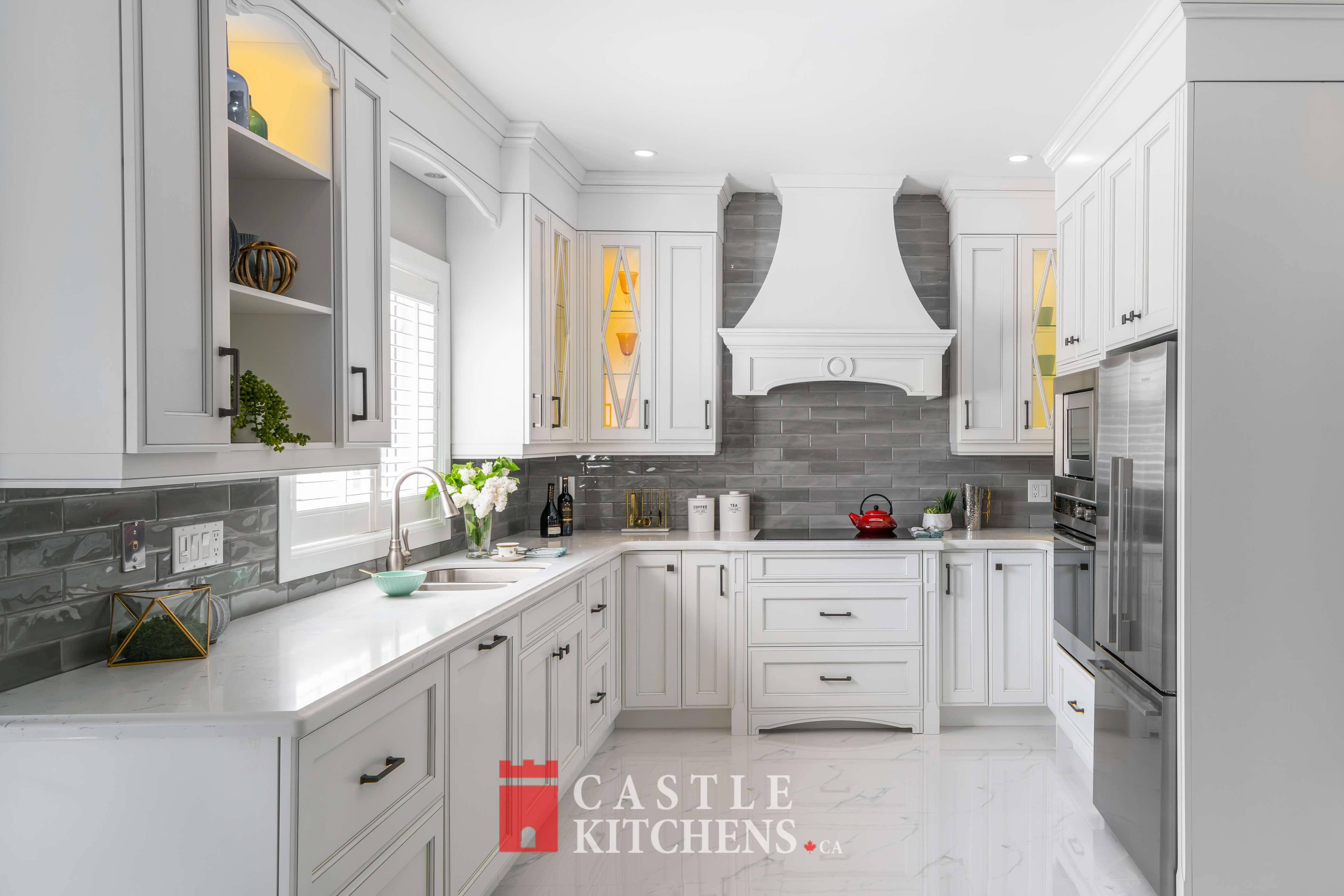 Transitional Kitchens Toronto   Markham   Castle Kitchens on Small:xmqi70Klvwi= Kitchen Renovation Ideas  id=43700