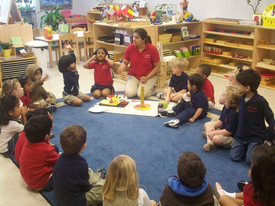 Teaching at the Montessori