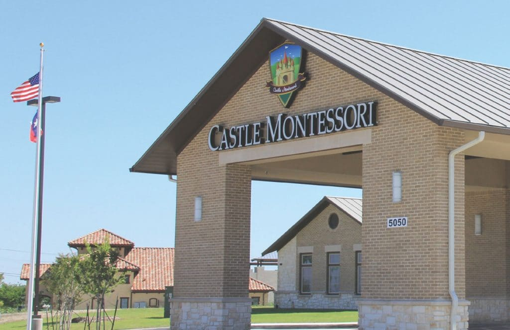 Castle Montessori school building