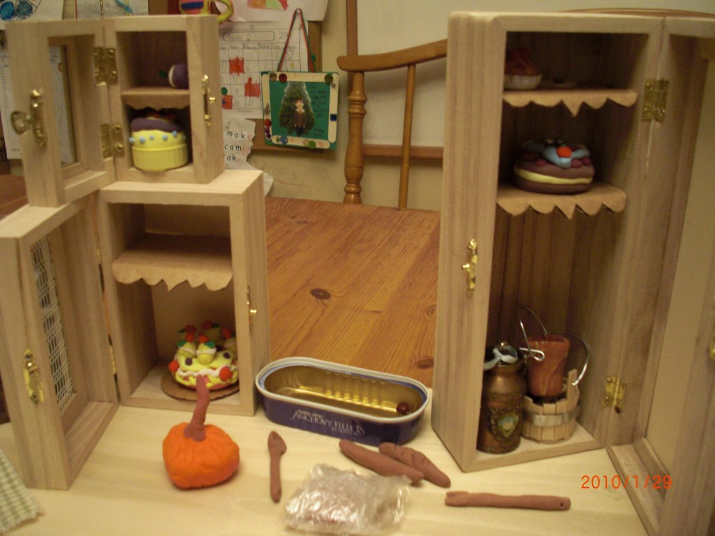 Cinderella S Handmade Miniature Kitchen