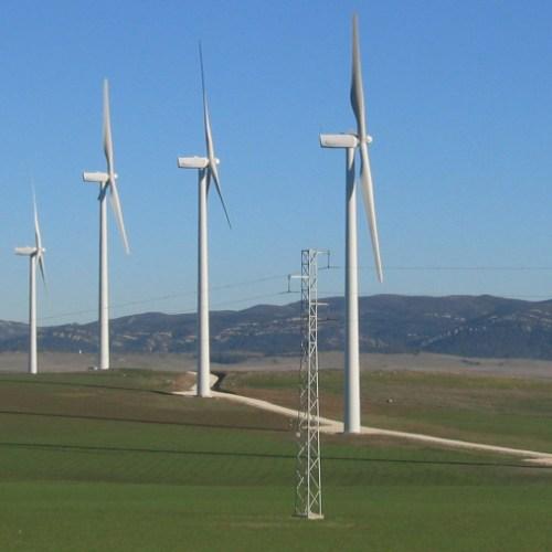 Designing Wireless Near Wind Turbines
