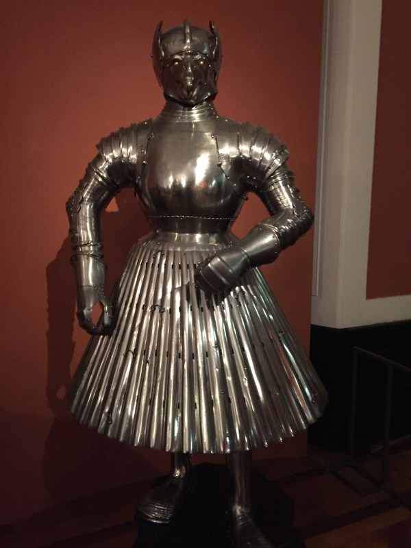 A Knight in Shining Armor—Wearing a Skirt