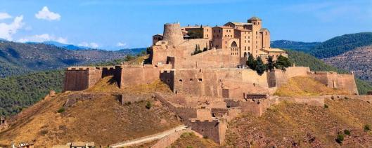 Castello Di San Vicente Di Cardona Castlesintheworld