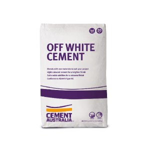 Off White Cement 20kg Cement & Mortar Products - Castle Construction Supplies Canberra