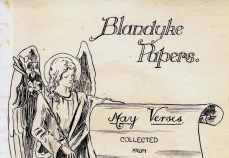 Detail of the front page of May 1911 Blandyke Papers