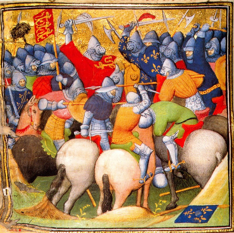 the Battle of Crécy