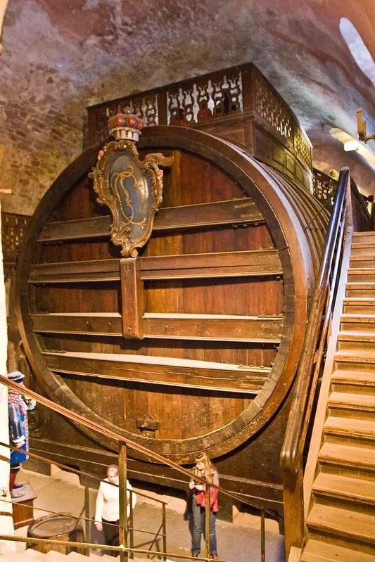 Heidelberg Castle wine barrel