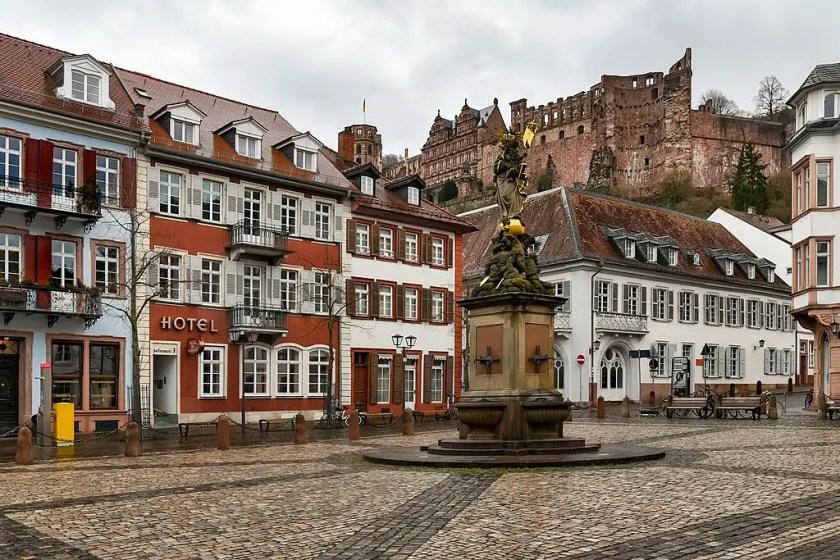 Heidelberg plaza