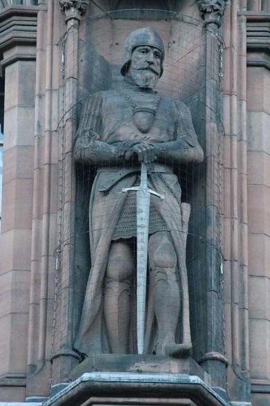 Statue of James 'The Black' Douglas