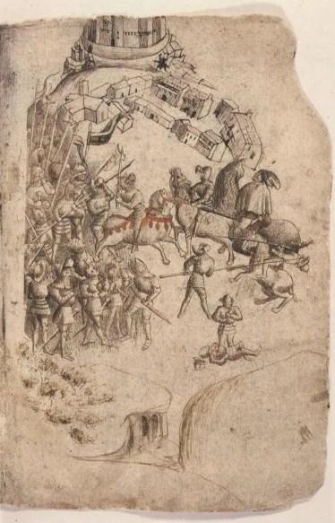 Depiction of The Battle of Bannockburn