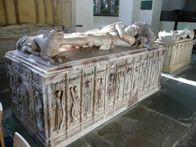 The tomb of William ap Thomas