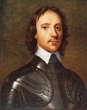 English statesman Oliver Cromwell