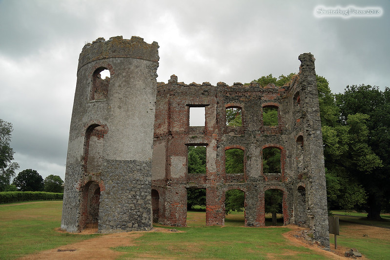 ruins at Shane's Castle