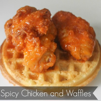 Spicy Chicken and Waffles