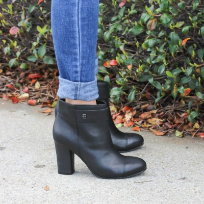 Perfect Black Booties (Brian James Giveaway)