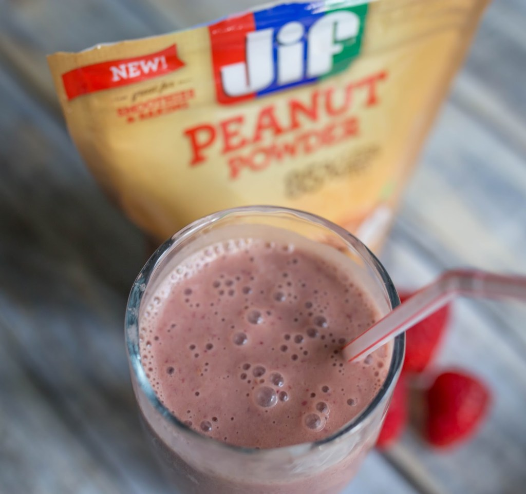 PBJ Smoothie Recipe by Atlanta blogger Casual Claire
