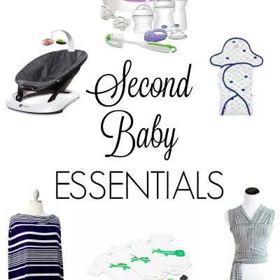 Second Baby Essentials