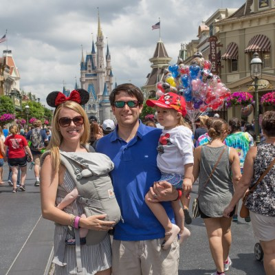 Disney with a Baby and a Toddler