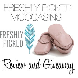 Freshly Picked Moccasins Review and Giveaway