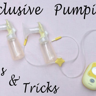 Exclusive Pumping Tips and Tricks {Guest Post}