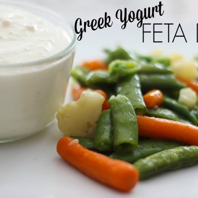 Greek Yogurt Feta Dip + Giveaway