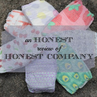 An Honest Review of Honest Company Products