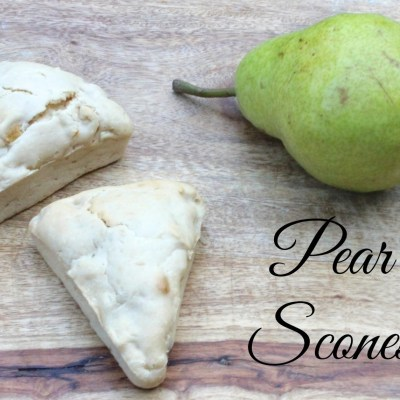 Pear Scones Recipe