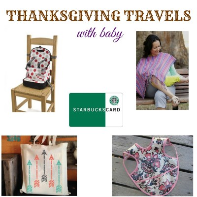 Thanksgiving Travels with Baby: Our Must Haves {Giveaway}
