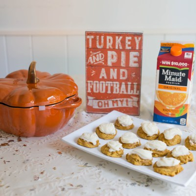 Momsgiving: Pumpkin Pie Cookie Recipe