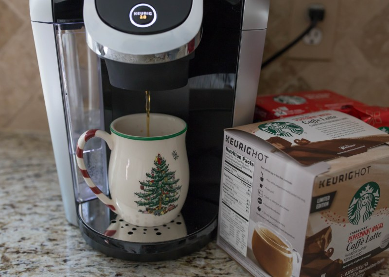keurig 2.0 brewing Starbucks coffee at home