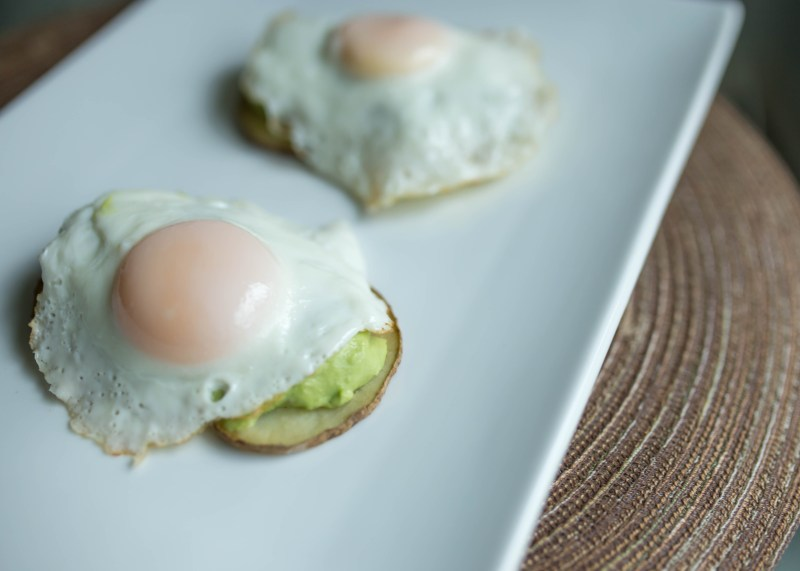 potato avocado toast whole30