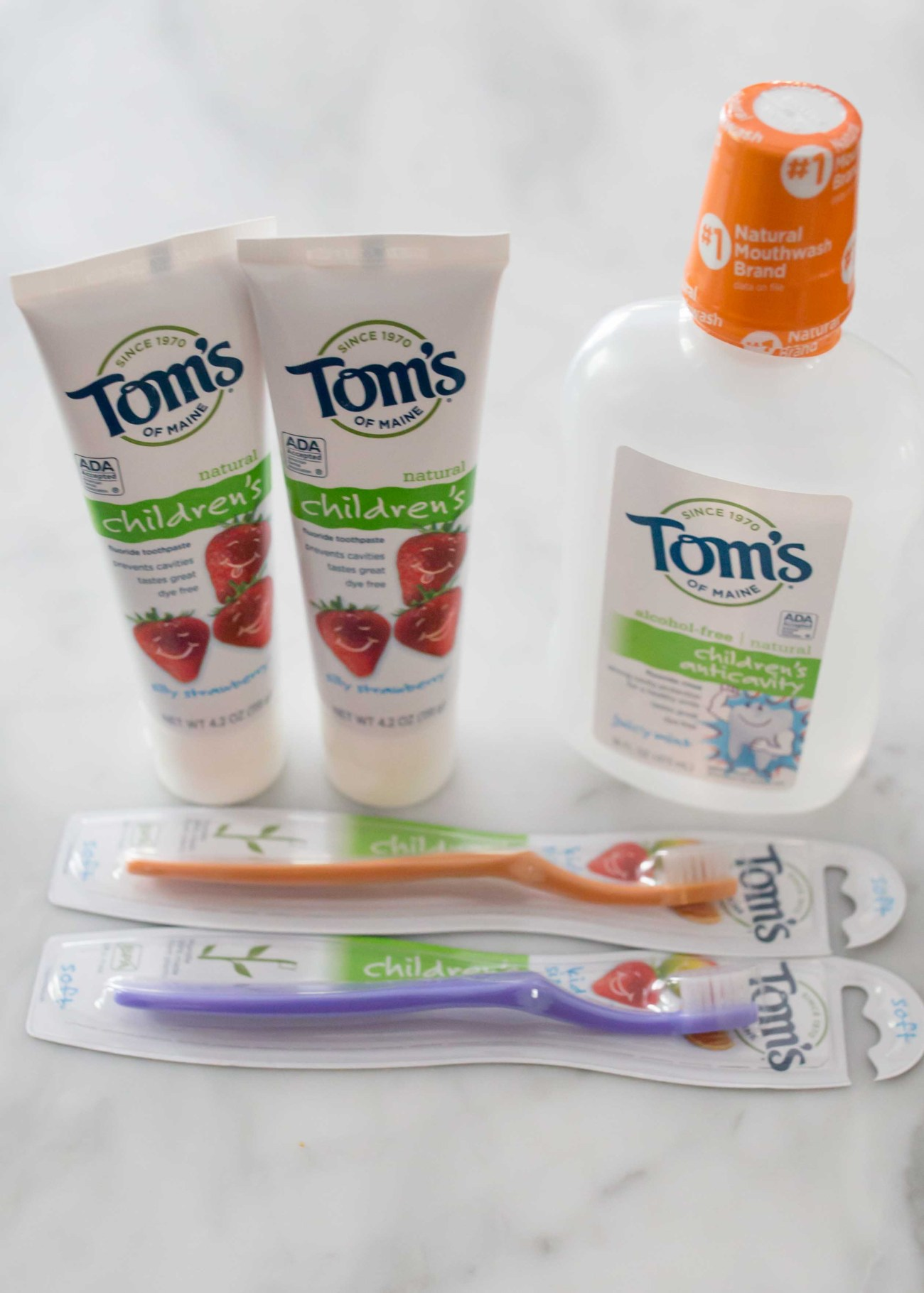 Tom's of maine dental hygiene products for kids