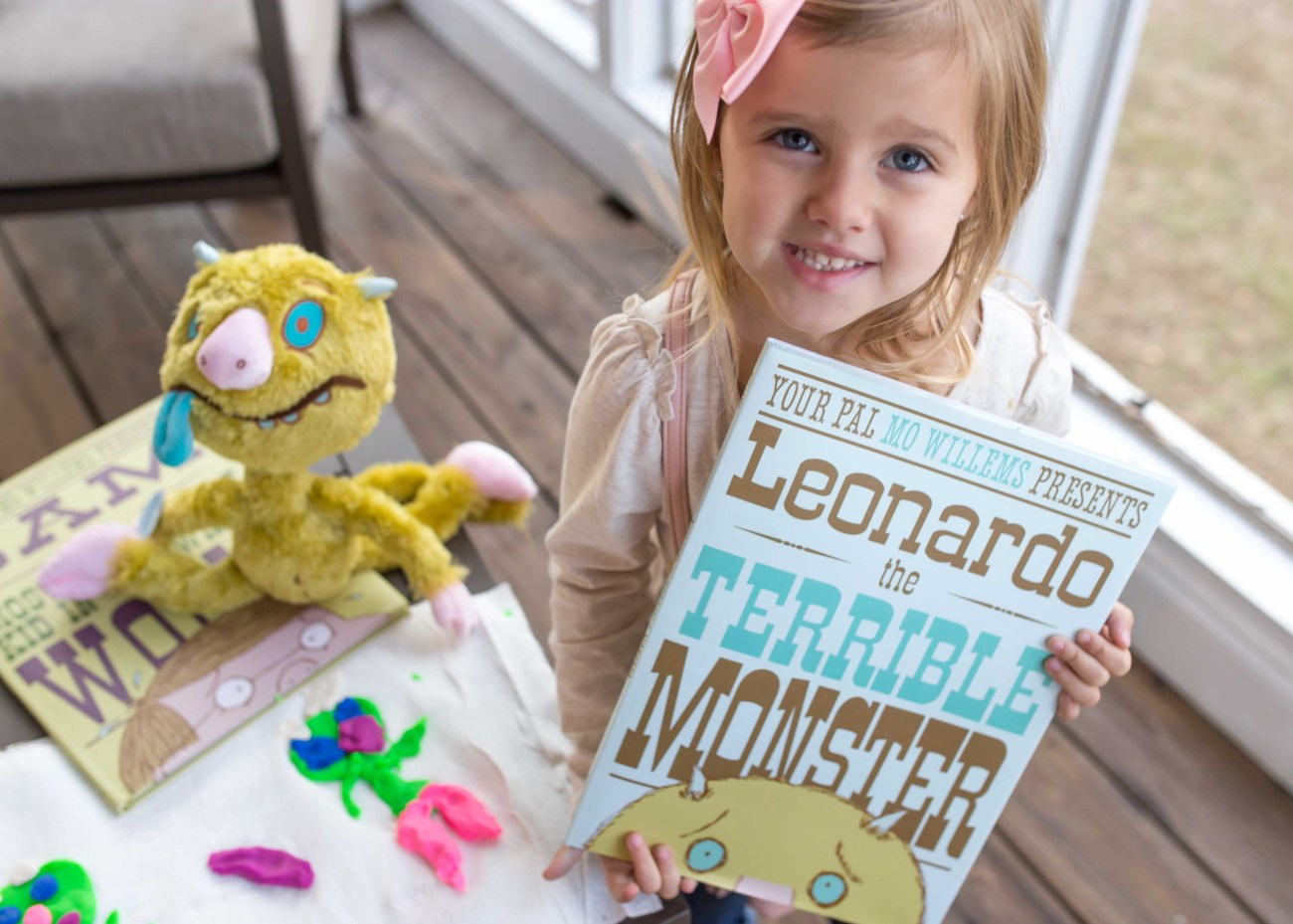 play dough monster craft leonardo the terrible monster