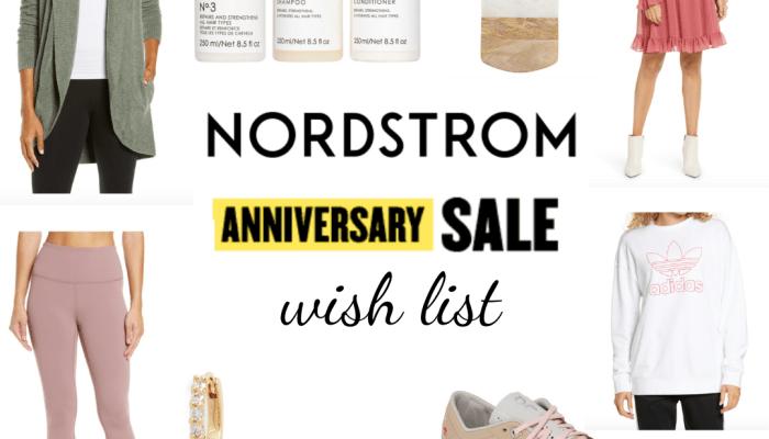 Nordstrom Anniversary Sale 2020: Wish List