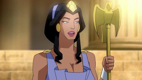 Hippolyta-Praise Towards Diana's Vigilant Skills!